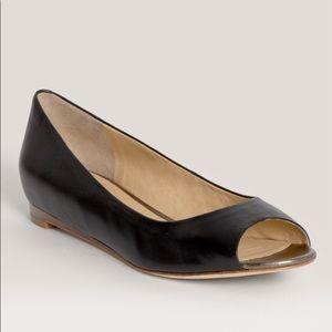 Cole Haan Astoria Peep Toe Flats